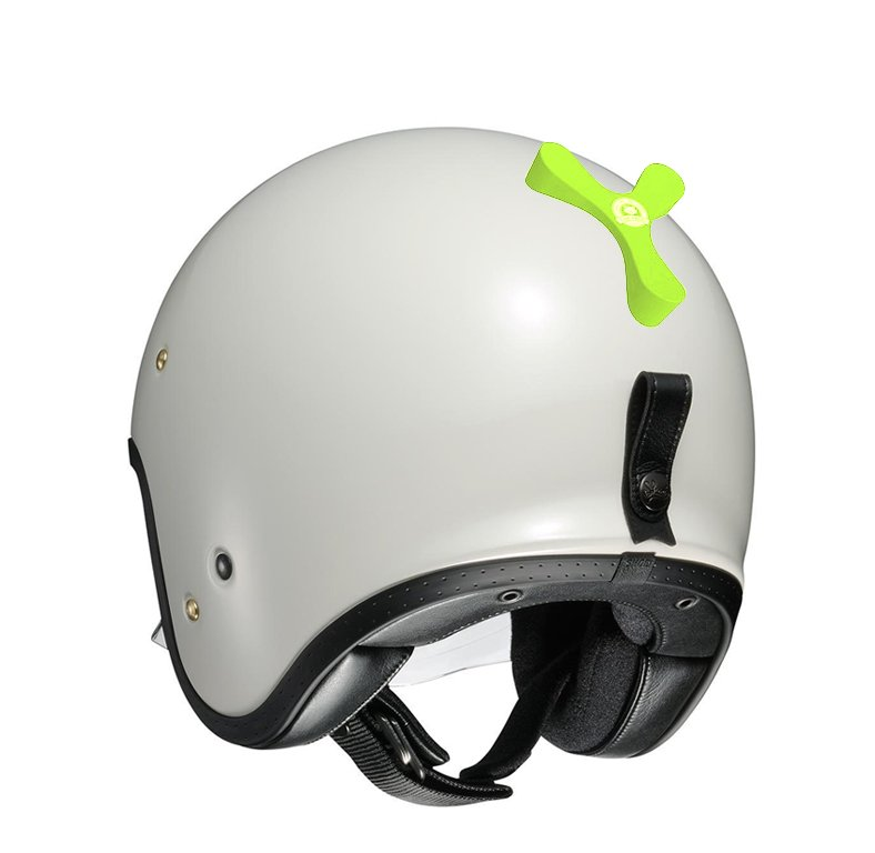 soporte-para-casco-de-moto-the-frog-helmet-shoei-jo