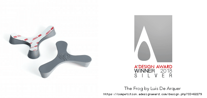 The-Frog-Helmet-support-and-adesign-award-winner-silver-logo