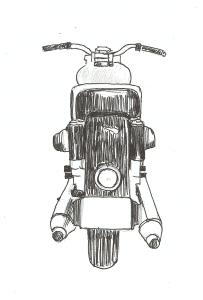La Moto de The Frog Helmet