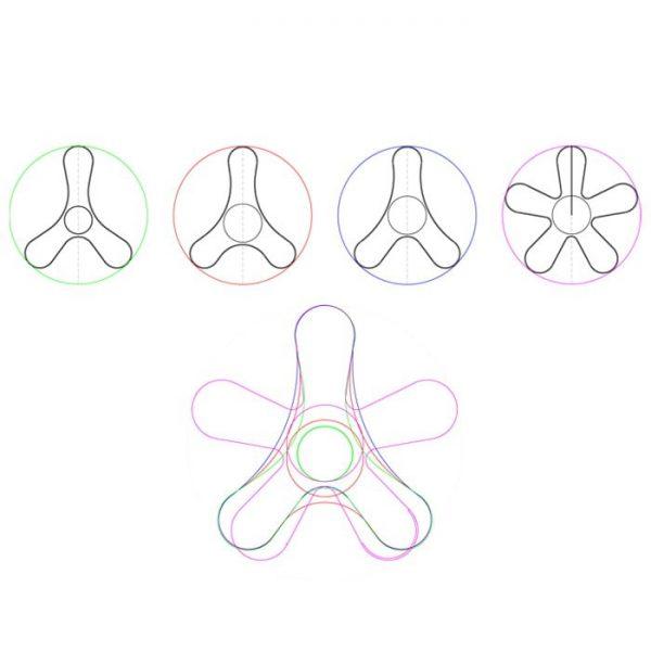 Formas-del-soporte-para-casco-de-moto-the-frog-helmet